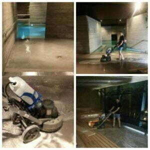 Byggstädning - golvvård