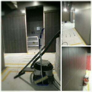 Byggstädning - väggar